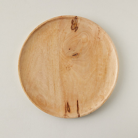 View larger image of Round Wood Serving Platter