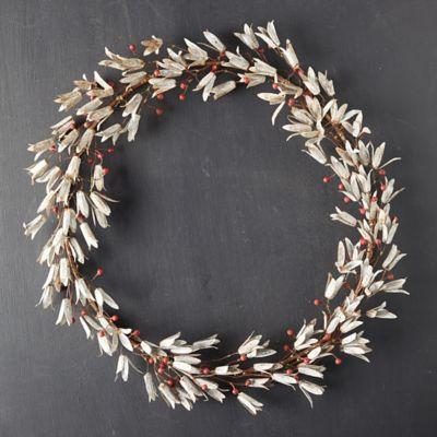 Aged Iron Mistletoe Wreath