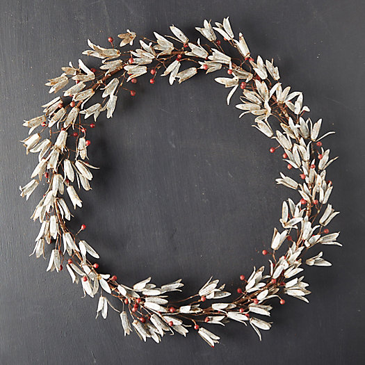 View larger image of Aged Iron Mistletoe Wreath