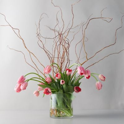 Tulip + Willow Bouquet