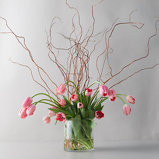 View larger image of Tulip + Willow Bouquet