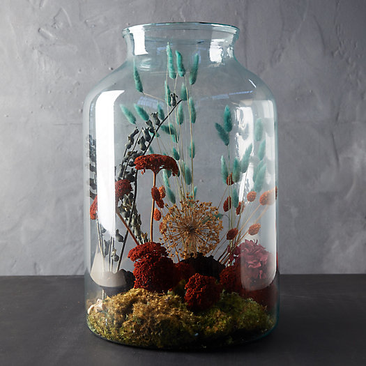 View larger image of Recycled Glass Terrarium