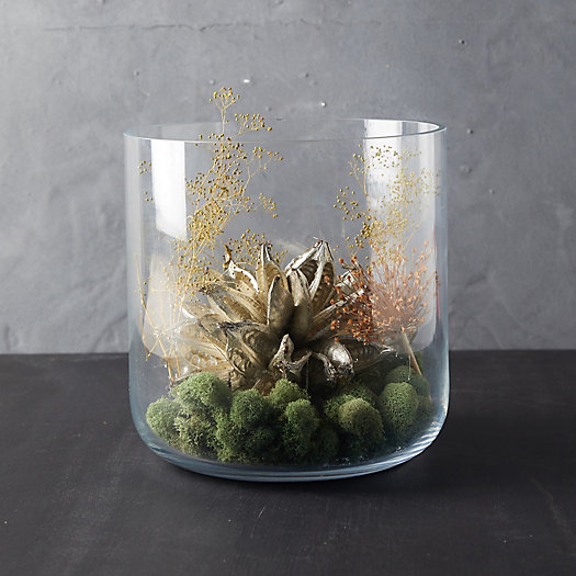 View larger image of Handmade Glass Jar Terrarium