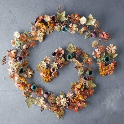 Gilded Botanicals Iron + Velvet Garland