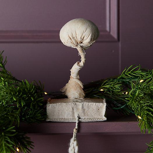 View larger image of Mushroom Fabric Stocking Holder