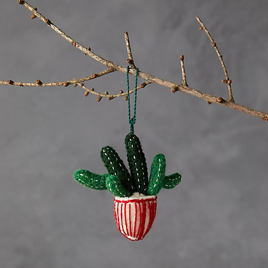 View larger image of Potted Cactus Felt Ornament