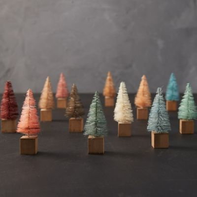 Brush Trees, Set of 12