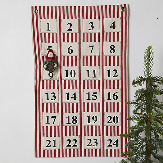 View larger image of Advent Calendar Wall Hanging