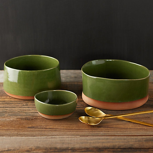 View larger image of Dipped Ceramic Bowl