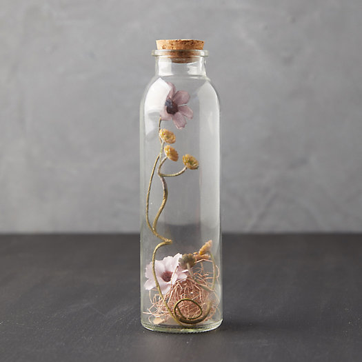 View larger image of Bottled Faux Dried Daisies