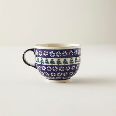 Nordic Star + Evergreen Ceramic Mug