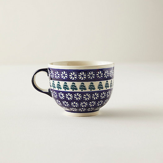 View larger image of Nordic Star + Evergreen Ceramic Mug