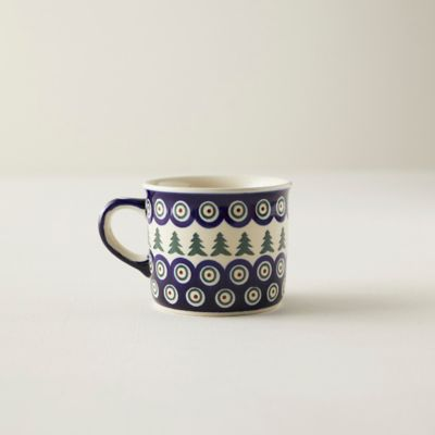 Evergreen Swirl Ceramic Mug