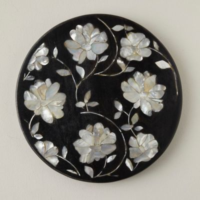 Mother-of-Pearl Inlay Serving Tray