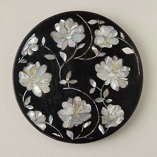View larger image of Mother-of-Pearl Inlay Serving Tray