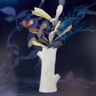 Earthenware Birch Branch Bud Vase