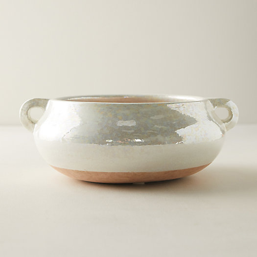View larger image of Iridescent Glaze Clay Decorative Bowl