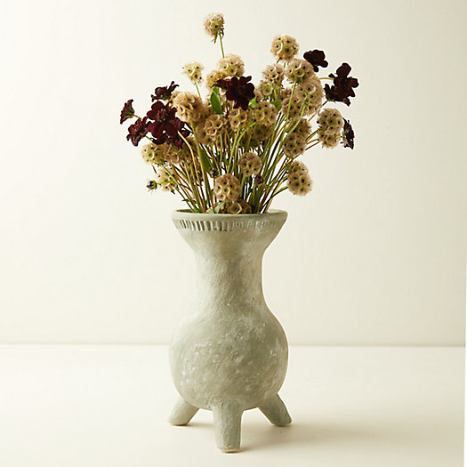 View larger image of Rustic Moss Ceramic Vase