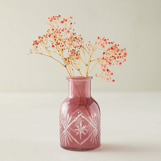 View larger image of Crystal Cut Bud Vase
