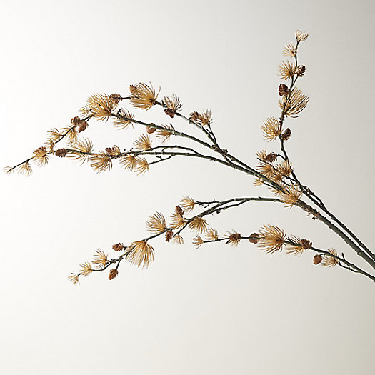 View larger image of Faux Glittering Gold Nettles Branch