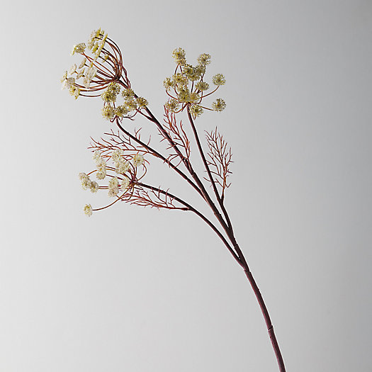 View larger image of Faux Queen Anne's Lace Spray, Cream
