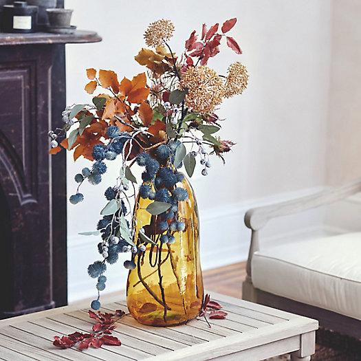View larger image of Shop the Look: An Autumn Blues Faux Floral Arrangement