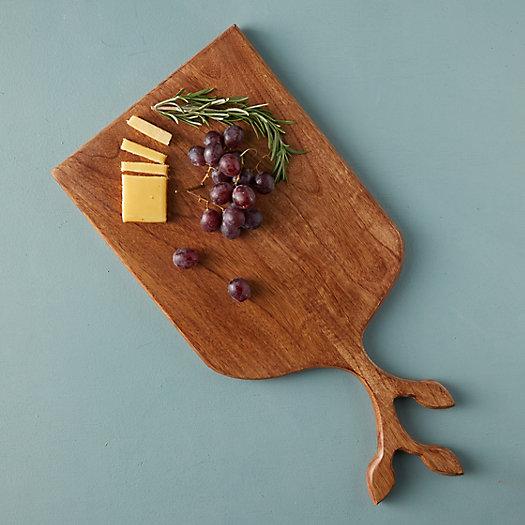 View larger image of Leaf Stem Wood Serving Board