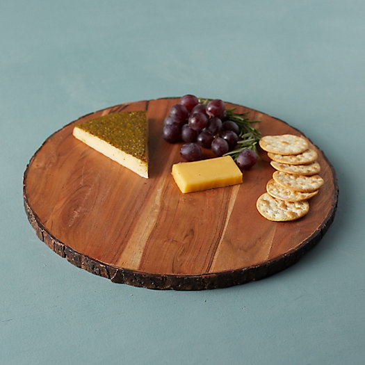 View larger image of Live Edge Round Serving Board