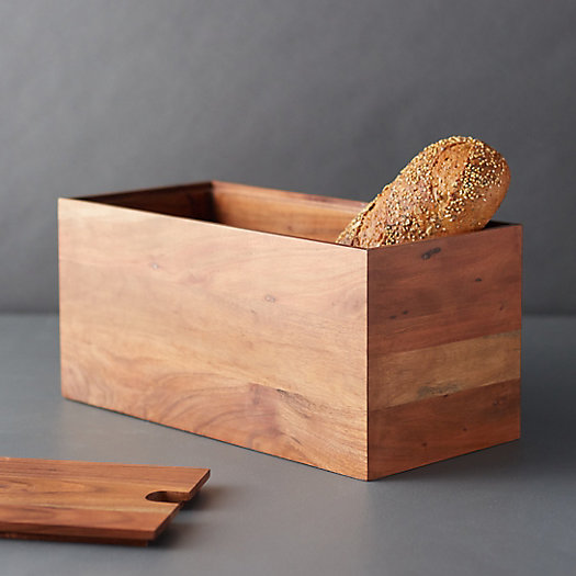 View larger image of Wood Bread Box