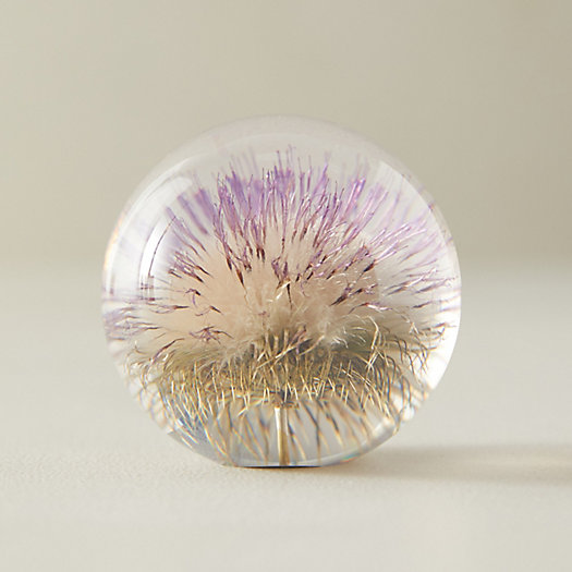 View larger image of Resin Floral Paperweight