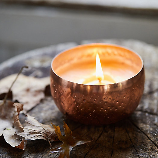 View larger image of Illume Iced Metallic Candle, Woodfire