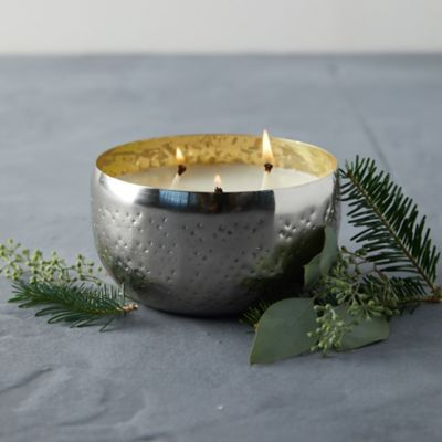 Illume Iced Metal Candle, Balsam + Cedar
