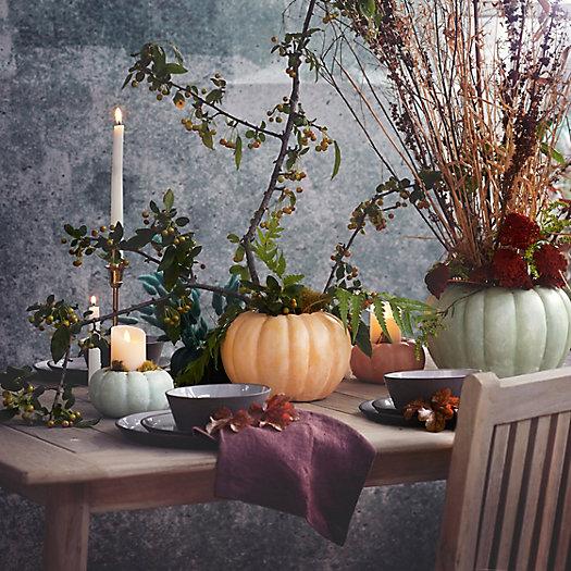 View larger image of Ceramic Pumpkin Planter