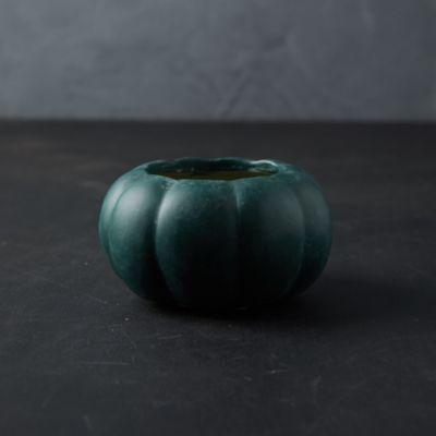Ceramic Pumpkin Planter, Mini