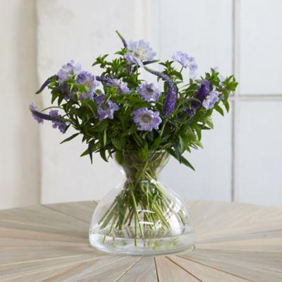 Asymmtrical Hour Glass Vase