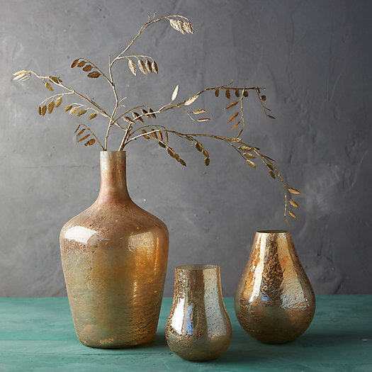 View larger image of Gold Luster Vase