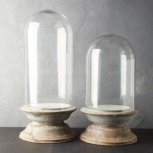 View larger image of Distressed Zinc Cloche