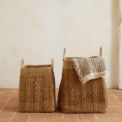 Woven Abaca Basket