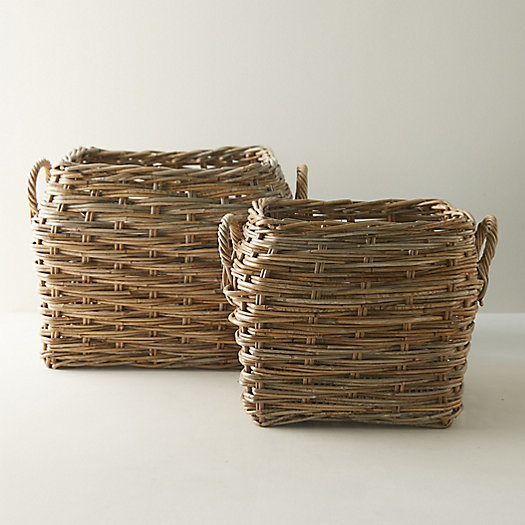 View larger image of Woven Rattan Basket