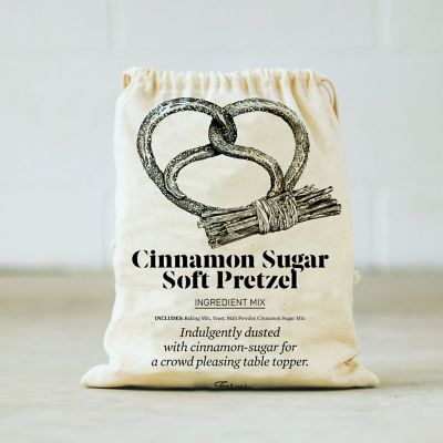 Cinnamon Sugar Soft Pretzel Baking Mix