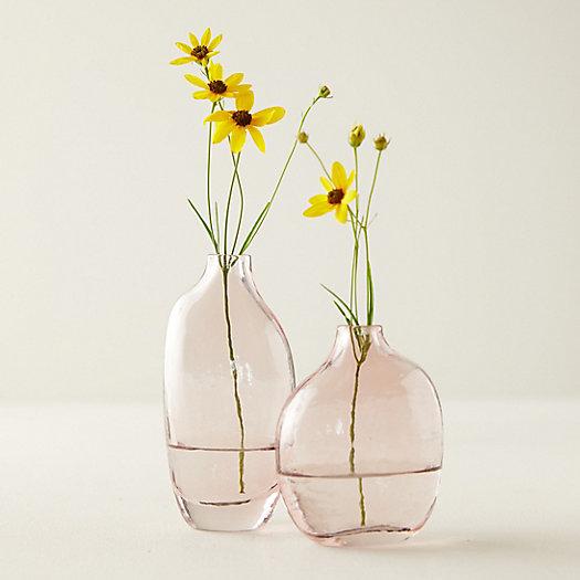 View larger image of Speckled Pink Bud Vase