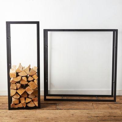 Frame Iron Log Holder