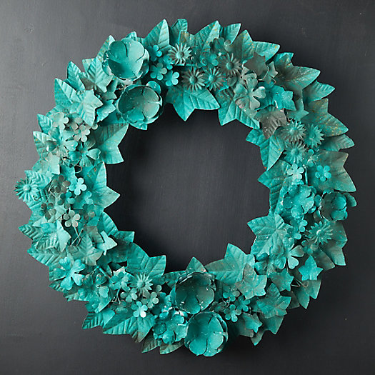 View larger image of Emerald Iron Wreath