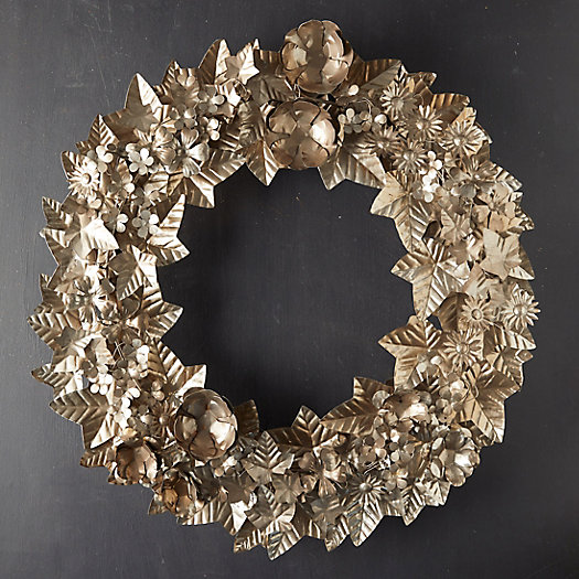 View larger image of Holiday Garden Iron Wreath