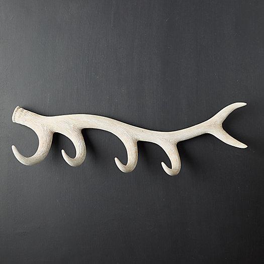 View larger image of Wood Antler Hook Rack