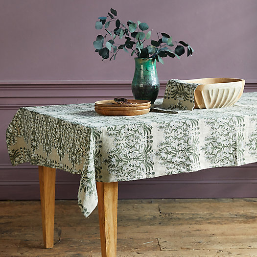 View larger image of Flowers + Vines Table Linen Collection