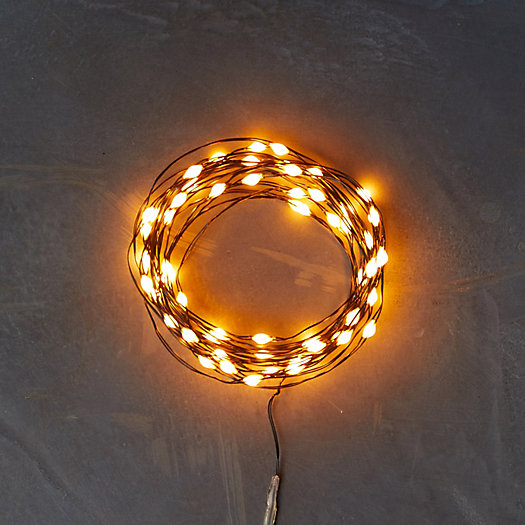 View larger image of Stargazer Twine Lights, 15' Battery