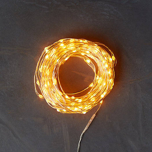 View larger image of Stargazer Twine Lights, 50' Battery