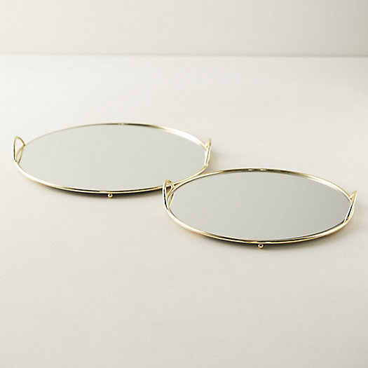 View larger image of Round Mirrored Tray