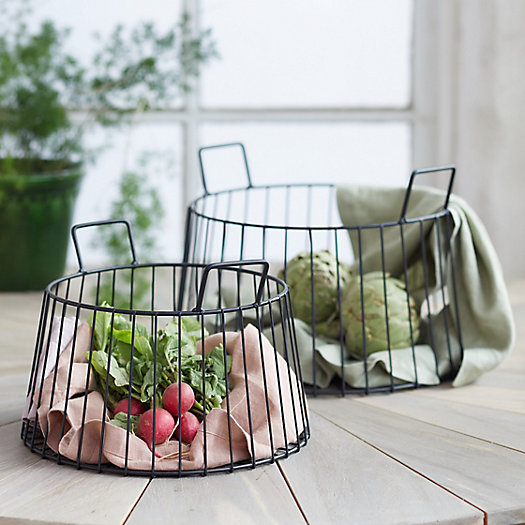 View larger image of Iron Wire Storage Basket